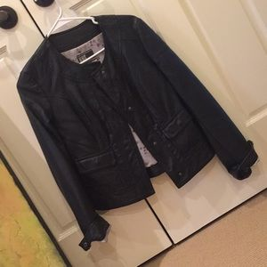 Kut from the kloth XS faux leather jacket